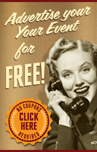 Have an event? Advertise for free