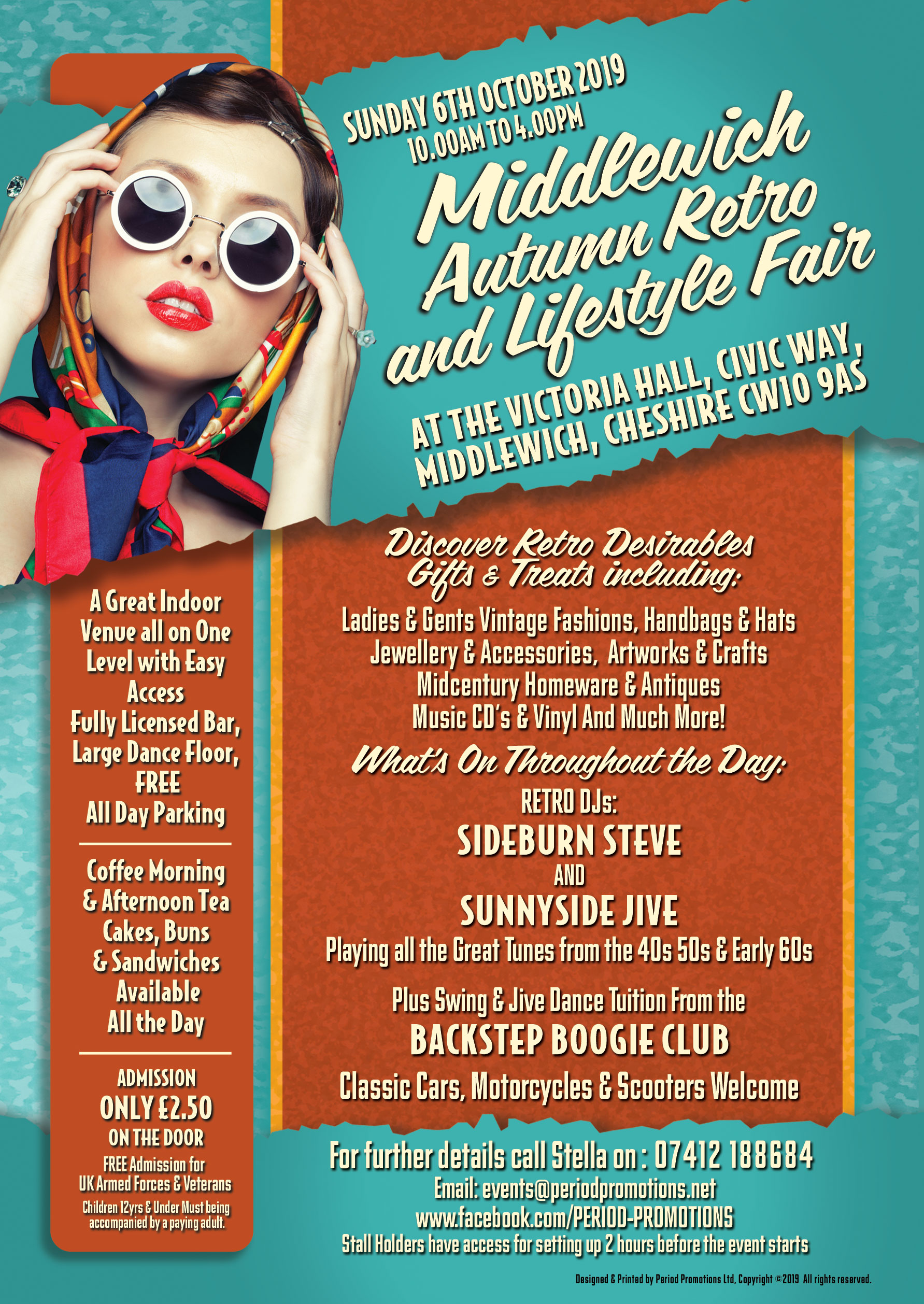 MIDDLEWICH AUTUMN RETRO & LIFESTYLE FAIR
