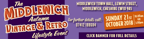 THE MIDDLEWICH AUTUMN VINTAGE & RETRO LIFESTYLE EVENT