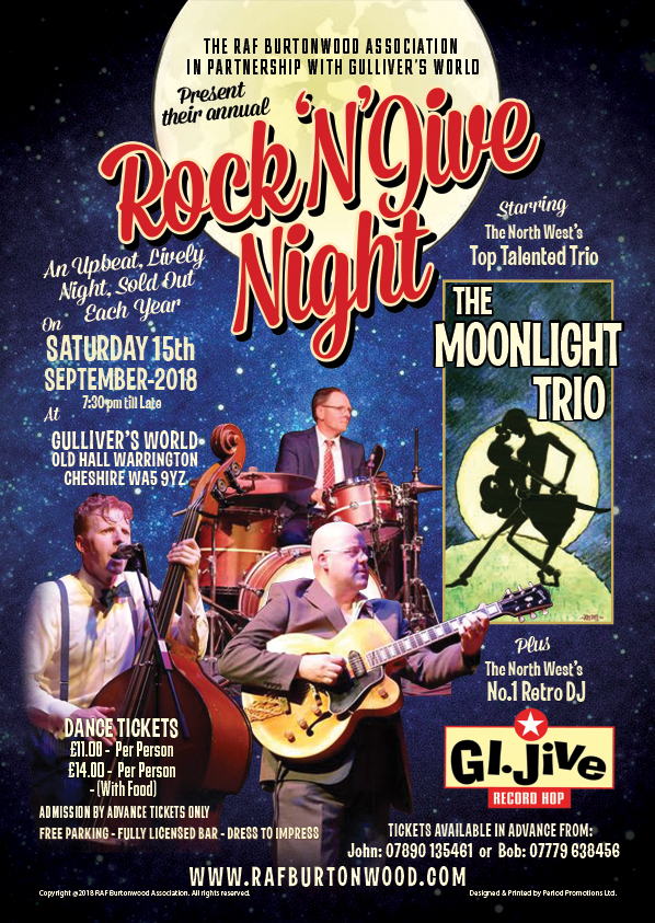 RAF BURTONWOOD ROCK 'N' JIVE NIGHT