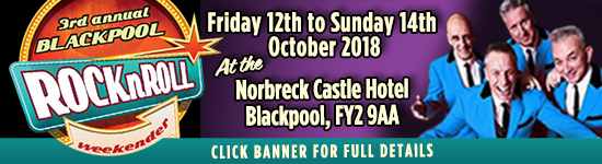 BLACKPOOL ROCK'N'ROLL WEEKENDER 2018