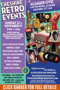 CHESHIRE RETRO EVENTS AT ALSAGER