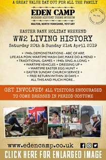 EDEN CAMP WW2 LIVING HISTORY WEEKEND