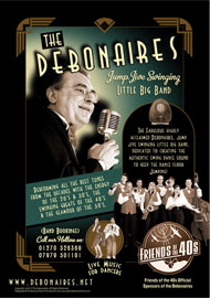 FRIENDS OF THE 40S SPONSORS THE DEBONAIRES