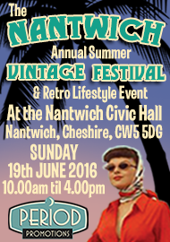 The Nantwich Annual Summer Vintage Festival